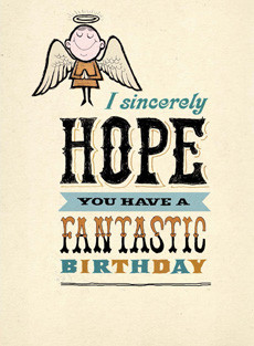 B-013  - Fantastic birthday / Facebook wall