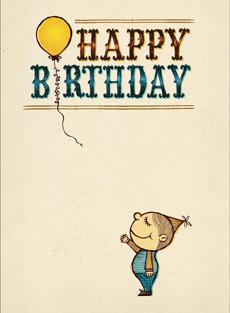 B-001  Happy Birthday / Instructions