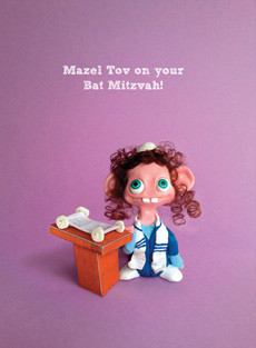Mazel Tov on your Bat  Mitzvah!