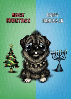 Merry Christmas/Happy Hanukkah
