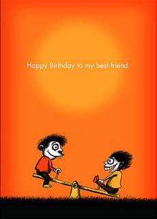 020 happy birthday to my best friend 3rd best