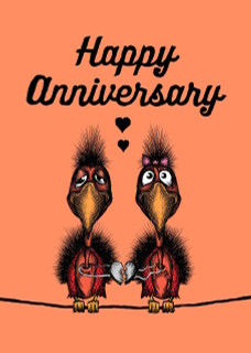 #235 - Happy Anniversary - Once every Century (to another couple)