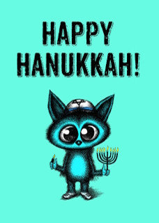 Happy Hanukkah/Not Jewish?