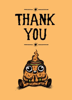 #239a-8  (Box of 8) Thank You/Great Start (Smaller Version)