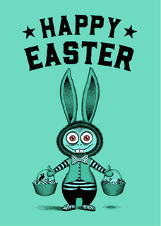 Happy Easter - Zombie