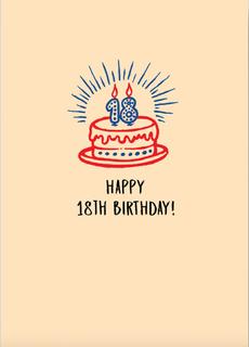 Happy 18th Birthday/Go vote you little shit.