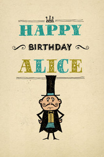 B-041 - HB - Happy Birthday, Alice