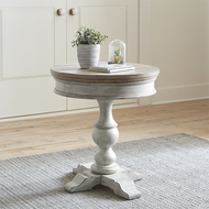 Heartland Round Pedestal Side Table