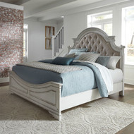 Magnolia Manor King Upholstered Panel Bed