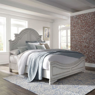 Magnolia Manor Queen Panel Bed