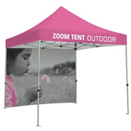 Tent Custom Printed 10' Backwall (Graphic Only)