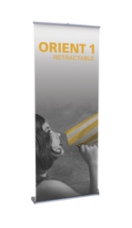 "Orient Retractable Banner Stand 31.5""wide"