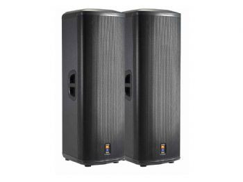 "JBL Dual 15"" 2-Way Powered Speaker"