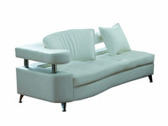 White modular chaise - Left