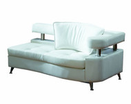 White modular chaise - Right