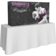 EMBRACE 5FT TABLETOP PUSH-FIT TENSION FABRIC DISPLAY 2 x 1