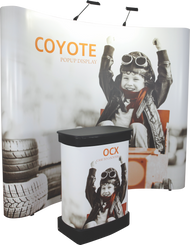 10FT COYOTE 4x3 CURVED KIT - RENTAL