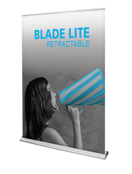 "Blade Lite Retractable Banner Sign 59""wide"