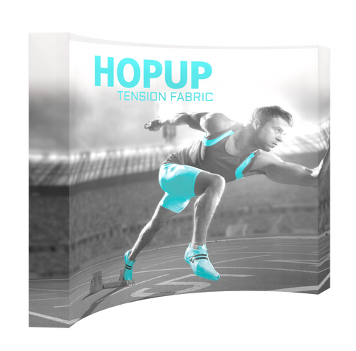 Backlit Hopup Full Fitted Graphic Display Kit 4x3