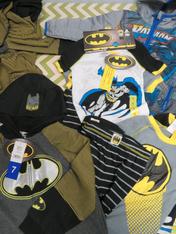 25+pc Kids BATMAN Sizes 5 6 7 #15081K (q-3-1)