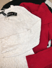 19pc Sweaters PETITE! INC Style & Co #15101M (q-2-4)