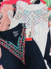 10pc GIRLS Designer Tops Size Medium #15133N (M-5-2)