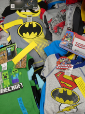 10 SETS = 40pc! Boys 4-PIECE Designer PJs #15158P (p-4-6/7)