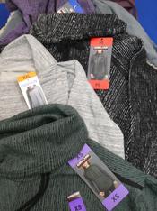 17pc Designer Pullovers & Jackets #15168P (L-1-6)