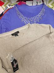 25pc Sweaters & TOPS - MOST XS, S & Petite #15185Q (L-2-2)