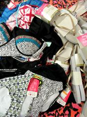 28pc Designer Bikini x TANKINI x Sandals #15189Q (L-2-4)
