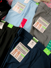 17pc MENS Haggar Dress Pants #15220T (L-4-1)