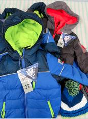 5pc BOYS Designer COATS Size 3T / 4T #15232TL (L-5-3)