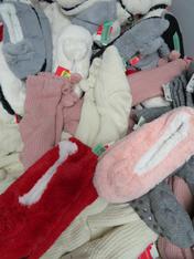 10pc GRAB BAG Slippers & Slipper Socks #15246T (j-5-6)