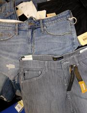 17pc JEAN Shorts SIZE 8 #15259u (j-3-4)