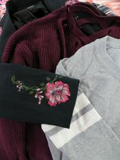 19pc $5.99 MACYS Sweaters - L XL 1X #11225T (i-5-4)