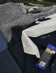 12pc Mens NAUTICA Sweaters & Polos #15338Y (i-1-6)