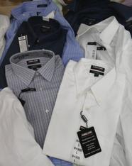 14pc MENS Kirkland Dress Shirts #15363z (m-1-4)