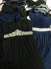 9pc $1,000+ in EVENING GOWNS Prom Pageant #15380z (P-1-1)