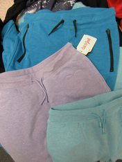 17pc Kids SWEATPANTS - BIGGER SIZES #15396A (O-4-4)