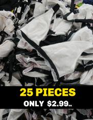 25pc $2.99 VS Lined BRAS *duplicates* #15403B (o-3-3)