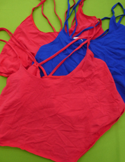 25pc VS Crop Tops - TWO COLORS #15488E (n-3-3)