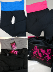 4pc Womens Grab Bag Yoga Pants #15532H (k-2-1)