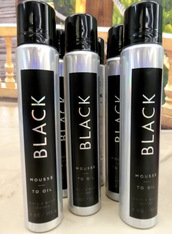 6pc BBW BLACK Mousse to Oil #15609L (o-2-3)
