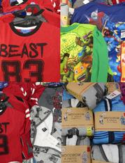 12+pc BOYS Designer PJ Sets & Robes #15637M (n-5-5)