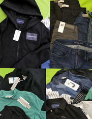 20pc Womens Calvin Klein JACKETS Jeans & More #15695P (v-2-2)