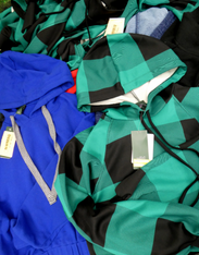 12pc $3.99 Grab Bag HOODIES & Zip Ups #15790w (i-1-1)