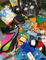 53+pc $1.99 Kids - BACKPACKS Hats & More #15819x (i-1-6)