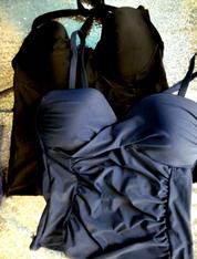 3pc $120 in Grab Bag TANKINI Tops #15949B (j-3-4)