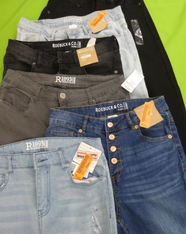 14pc ROEBUCK Juniors Jeans #16049G (g-4-3)