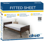 Fitted Hospital Bed Sheet Set 15030HBL by Drive
